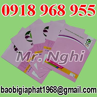 In túi giấy ghép màng nhôm hạt giống| baobimangghep.com
