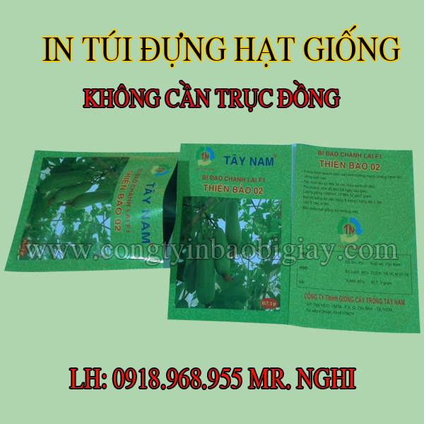 in tui dung hat giong, in tui hat giong| baobimangghep.com