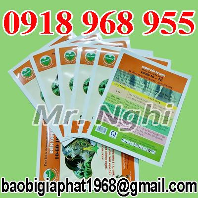 In túi phân bón 500g| baobimangghep.com