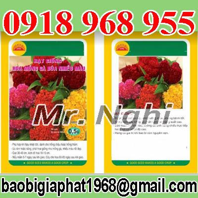 In bao bì nhựa hạt giống không cần trục đồng| baobimangghep.com